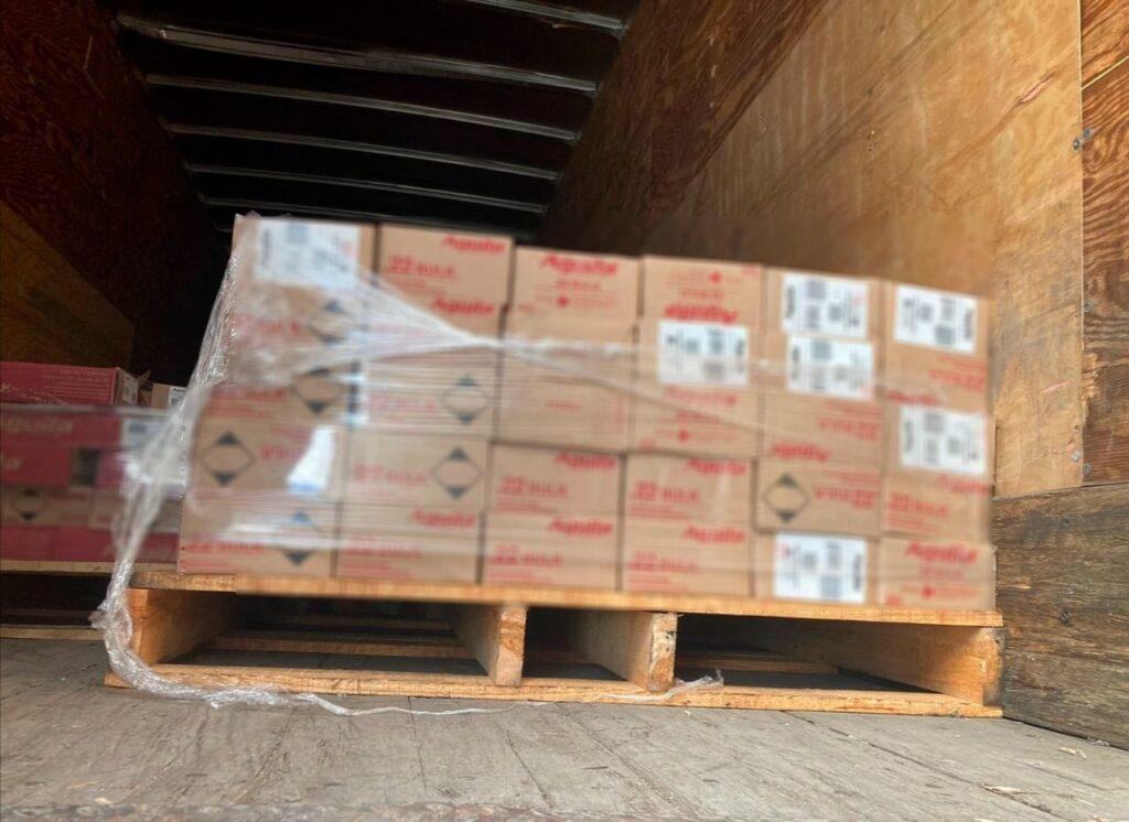 Localizan cajas con cartuchos robados en San Luis de la Paz 2