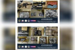 En la col. Ganadera aseguran un gran arsenal, miles de piezas para ensamblar armas de fuego, cartuchos útiles y herramientas. 3