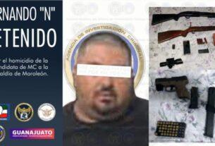 "Capturan a FERNANDO ""N"" homicida de la candidata de MC a la alcaldía de Moroleón. 2"