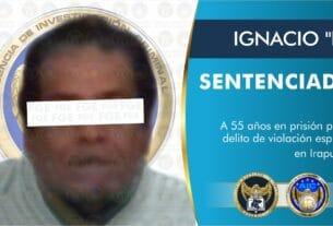 """IGNACIO """"N"""" pasará 55 años en prisión, culpable del delito de violación espuria en Irapuato 3"""