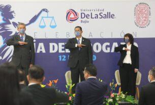 El Abogado es un pilar del Estado de Derecho: Diego Sinhue. 4