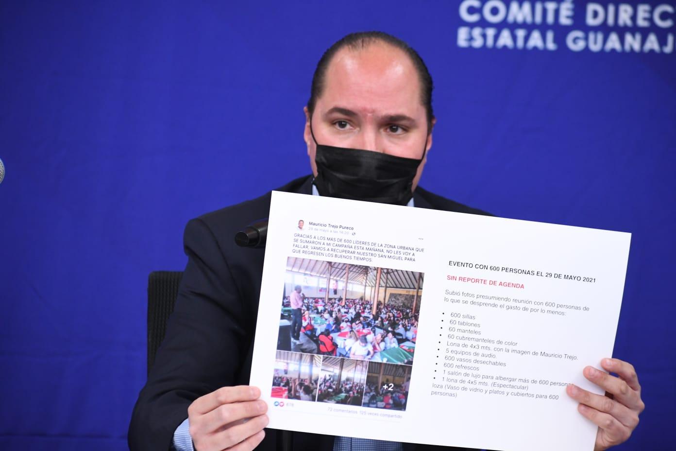 BUSCA PAN GUANAJUATO ANULAR ELECCIÓN DE SAN MIGUEL DE ALLENDE POR MÚLTIPLES VIOLACIONES A LA LEY ELECTORAL. 1