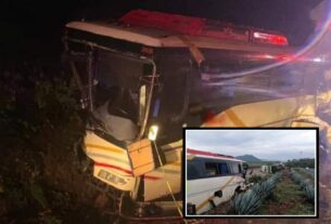 Mueren guanajuatenses en accidente en la carretera Tepic-Guadalajara, regresaban de la playa 4