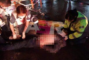 Atropellan a trailero en el boulevard Solidaridad, se reporta grave 4