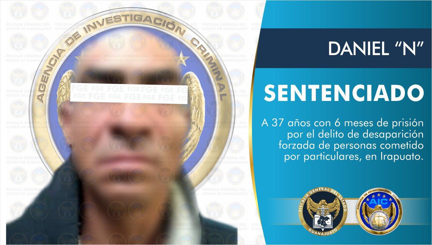 Sentencia de 37 años y 6 meses a sujeto por el delito de desaparición forzada 1