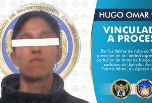 Joven de 21 años es vinculado a proceso, detenido después de robar un autotransporte de carga 4