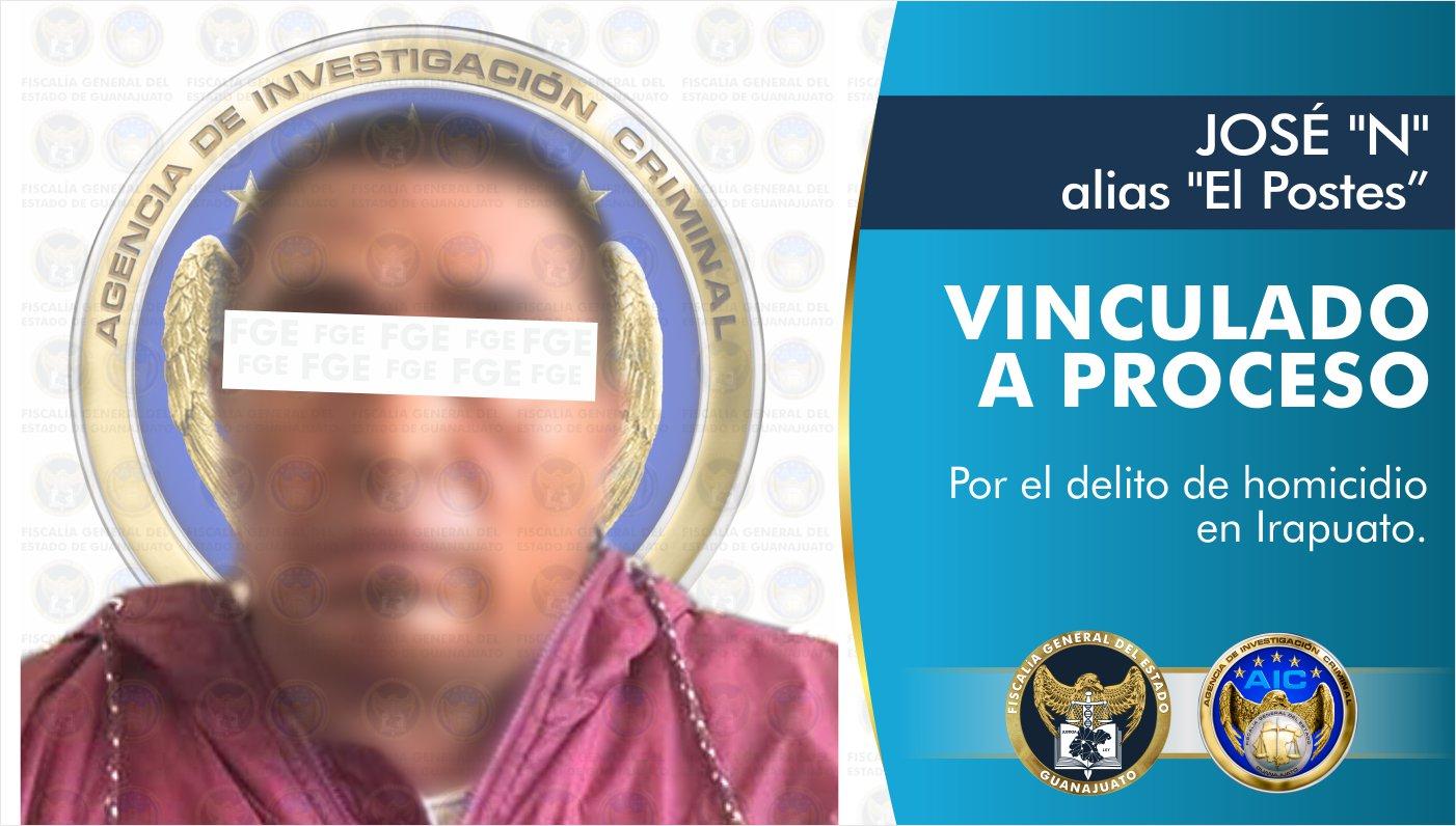 Vinculan a proceso a inculpado en el homicidio de mujer registrado en la comunidad La Caja en Irapuato 1
