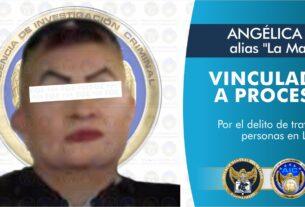 """ANGÉLICA """"N"""", apodada """"La Mami"""", ha sido imputada en el delito de trata de personas. 4"""