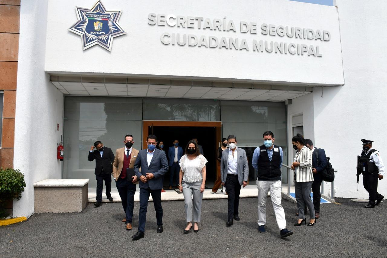 SUPERVISA LORENA ALFARO SECRETARIA DE SEGURIDAD CIUDADANA 1