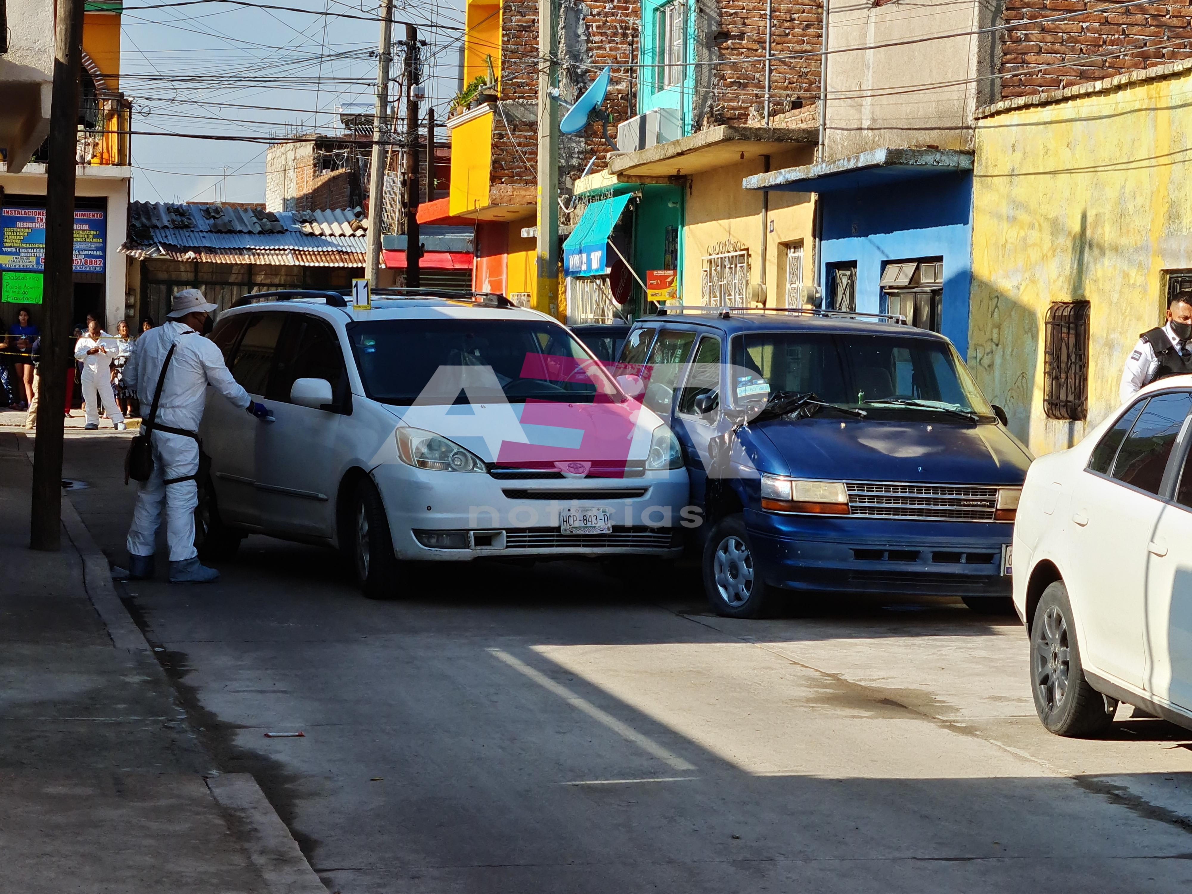 Ejecutan a conductor de camioneta en el Barrio de Guadalupe 1