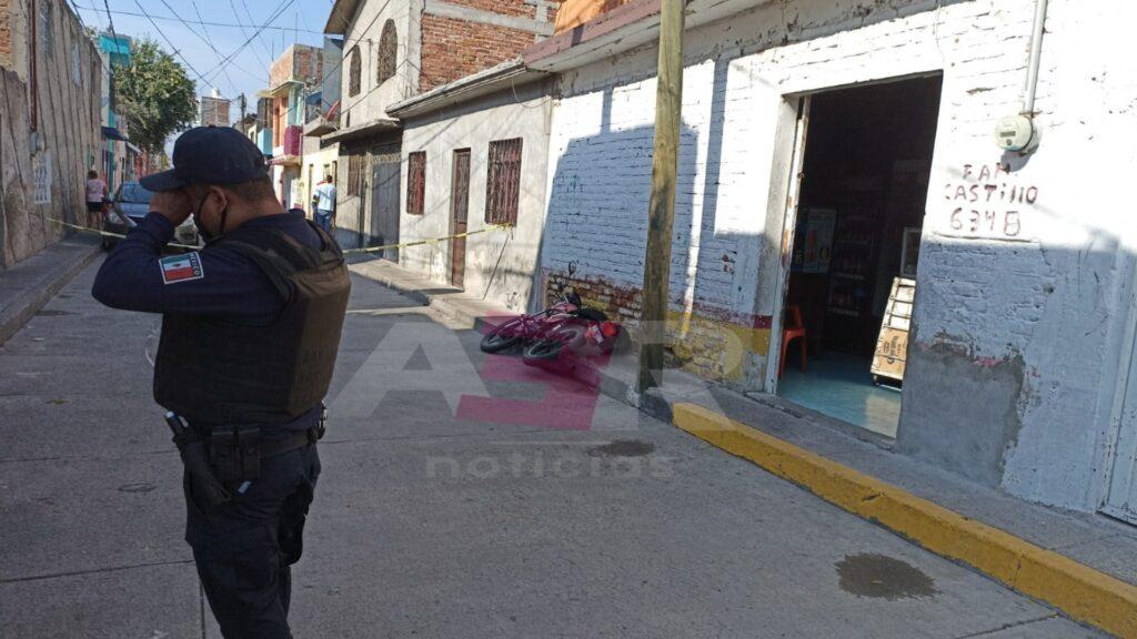 Ejecutan a conductor de camioneta en el Barrio de Guadalupe 2