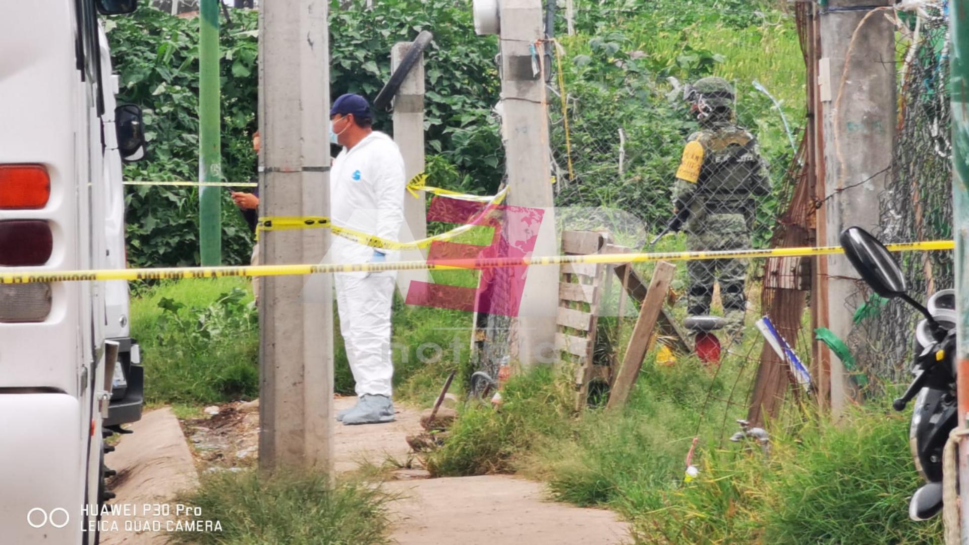 Matan a dos mujeres en Villas de San Cayetano, una más queda herida. 1