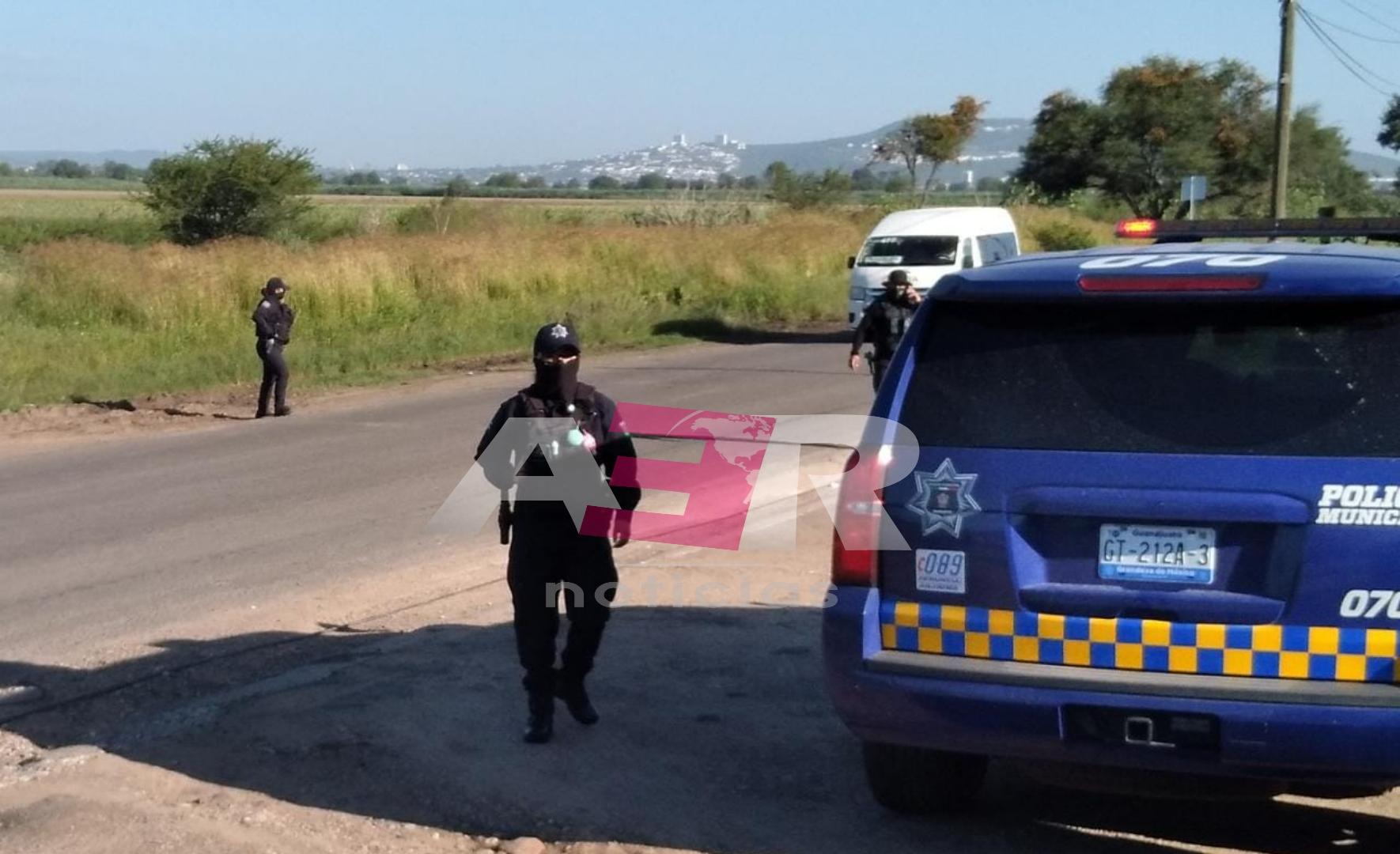 MATAN A POLICÍA DE IRAPUATO EN EL CAMINO A LA COMUNIDAD SAN ROQUE 1