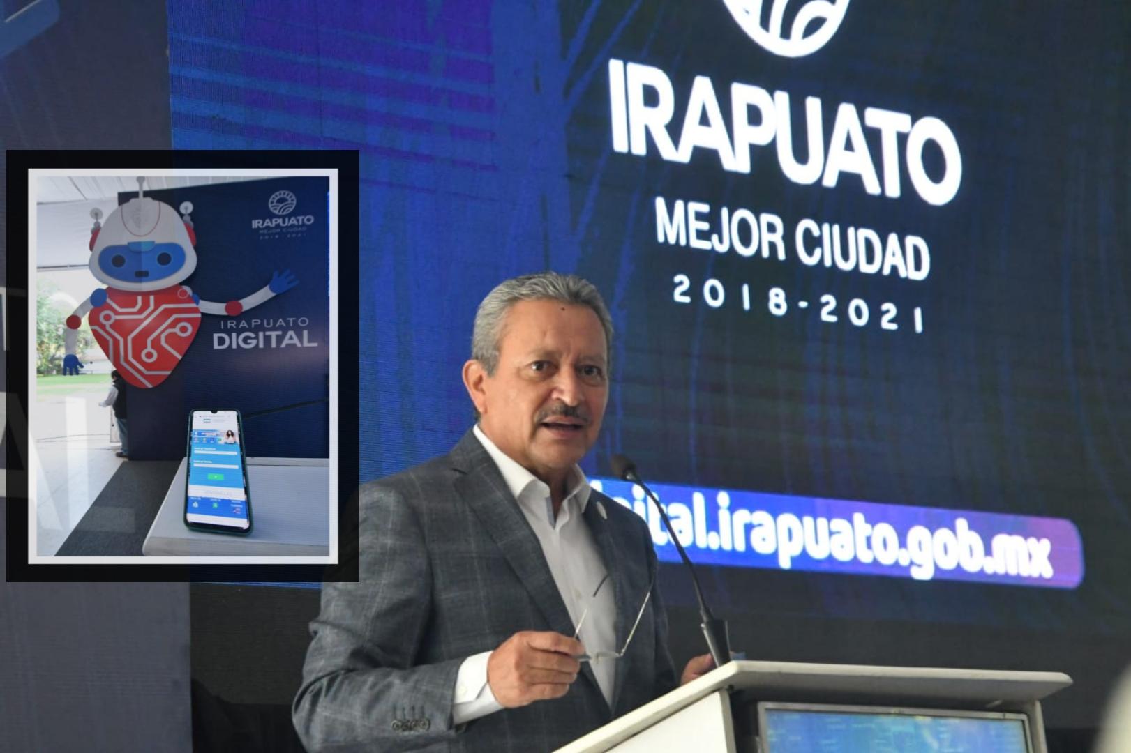PRESENTAN NUEVO PORTAL 'IRAPUATO DIGITAL' 1