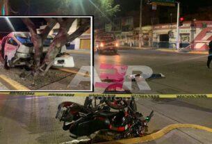 Muere motociclista tras ser impactado por vagoneta de transporte de personal 2
