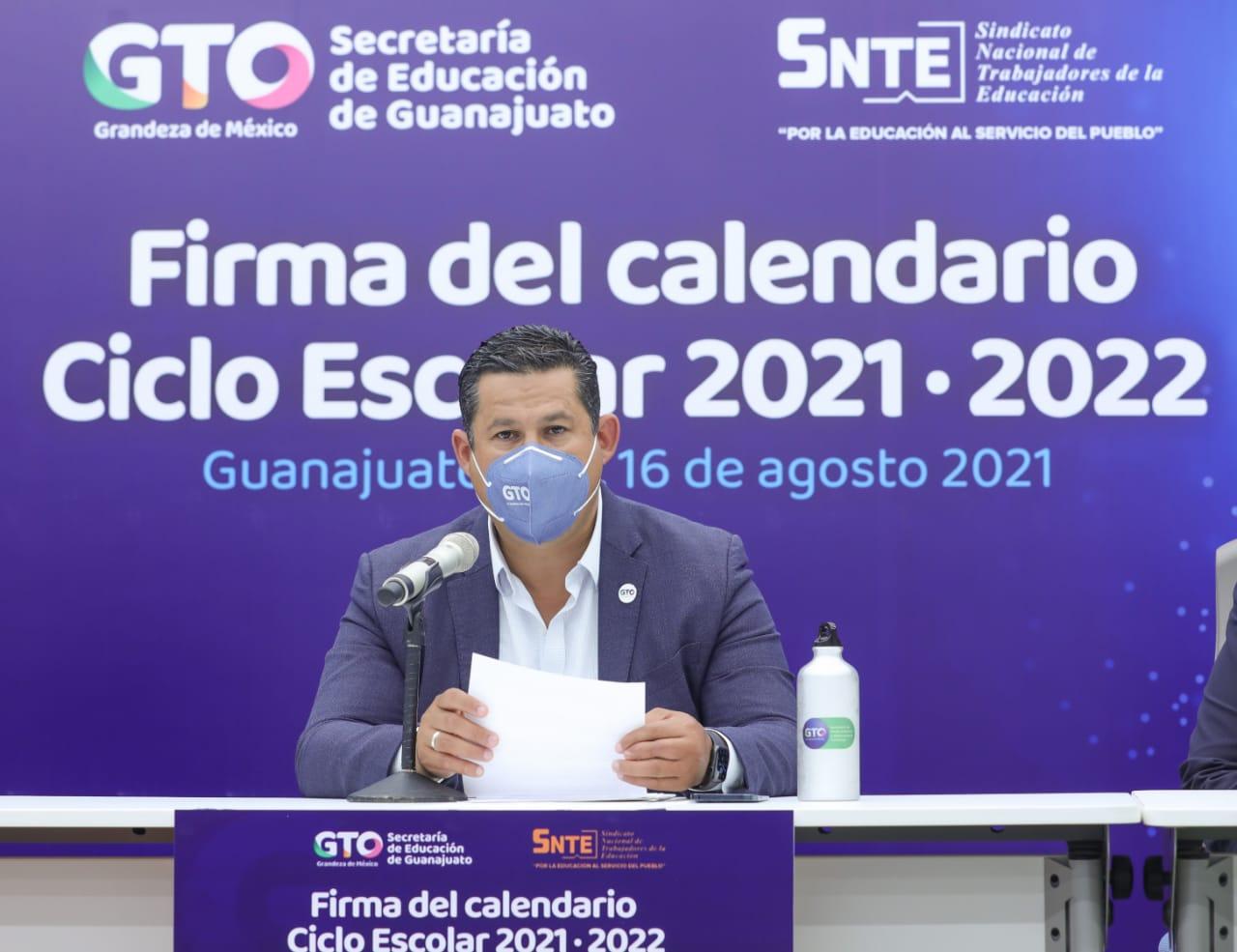 Presenta Gobernador de Guanajuato el Calendario Escolar para el Ciclo 2021-2022 1