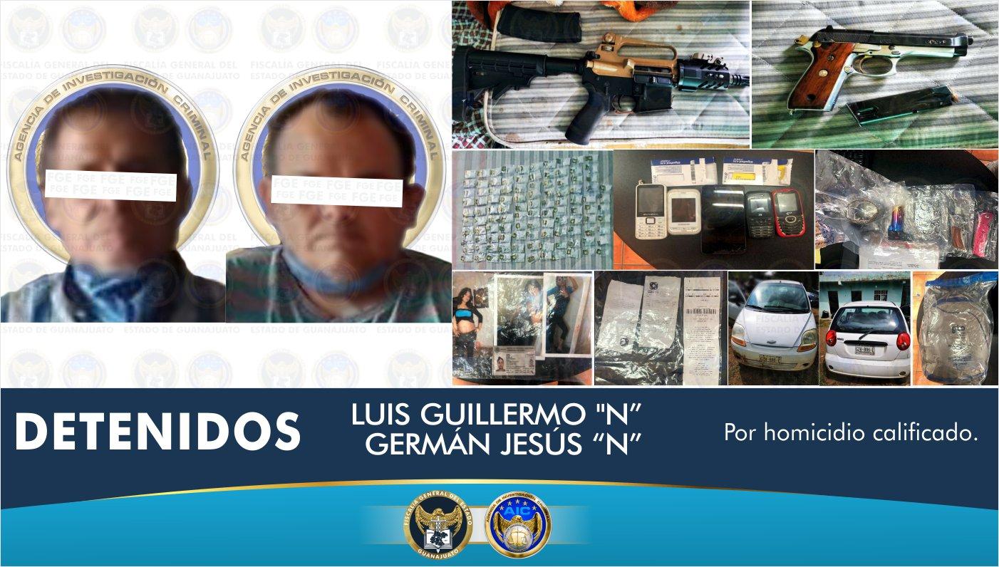 Desarticulan una célula delictiva que mató y desmembró a dos personas en Guanajuato y liberan a víctima privada de la libertad. 2