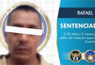 Un sujeto acusado por violación fue sentenciado a 35 años de prisión 4
