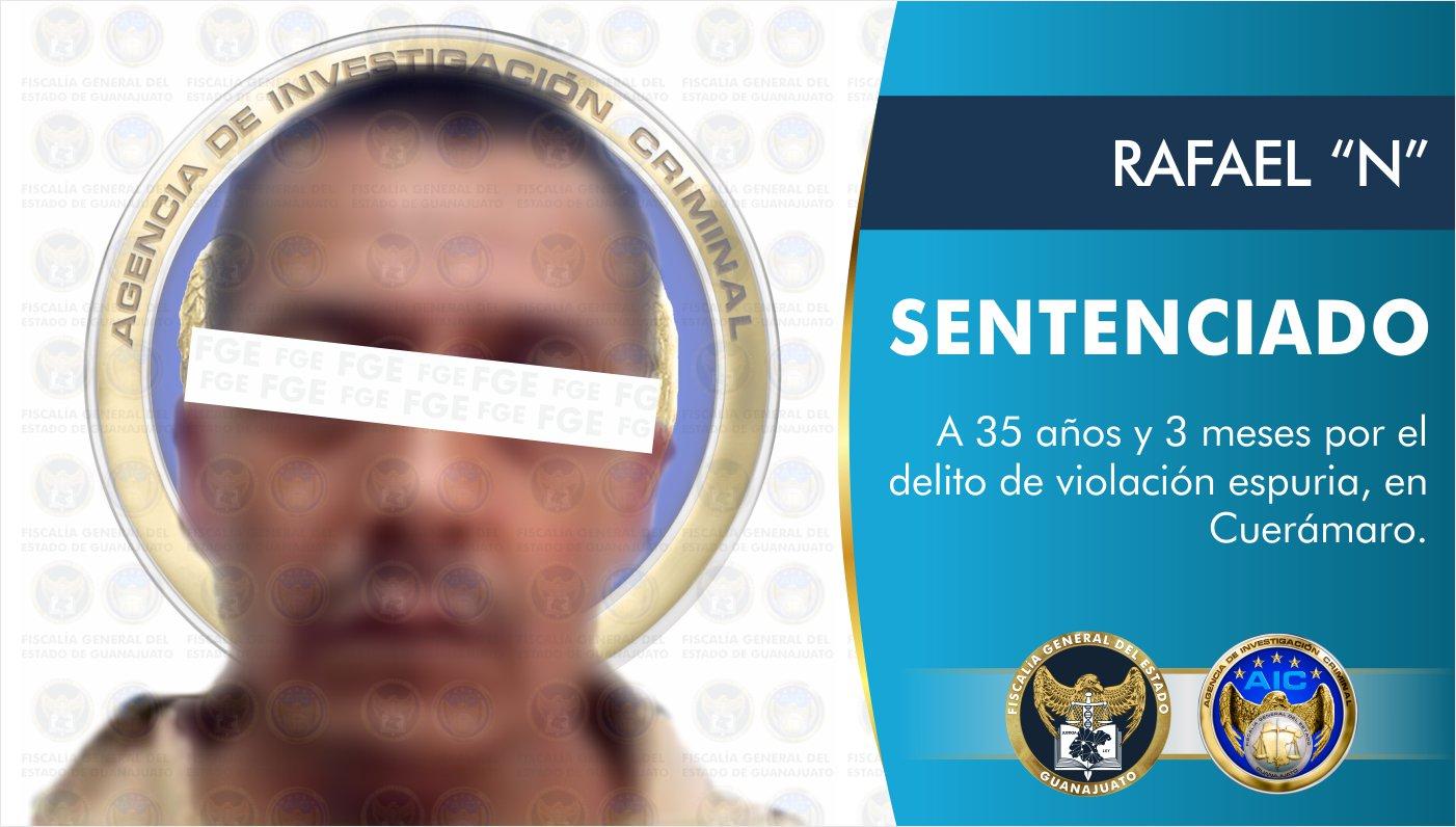 Un sujeto acusado por violación fue sentenciado a 35 años de prisión 1