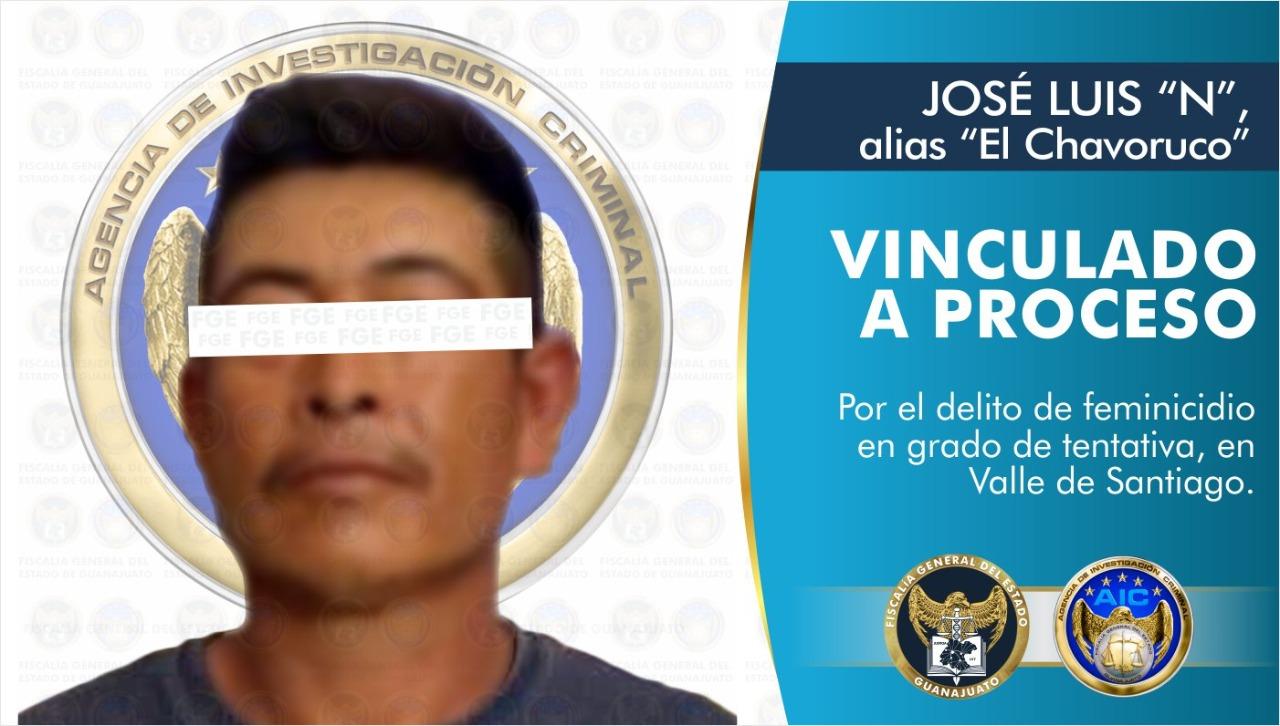 """JOSÉ LUIS """"N"""" alias """"El Chavorruco"""" es vinculado a proceso penal por feminicidio en grado de tentativa 1"""
