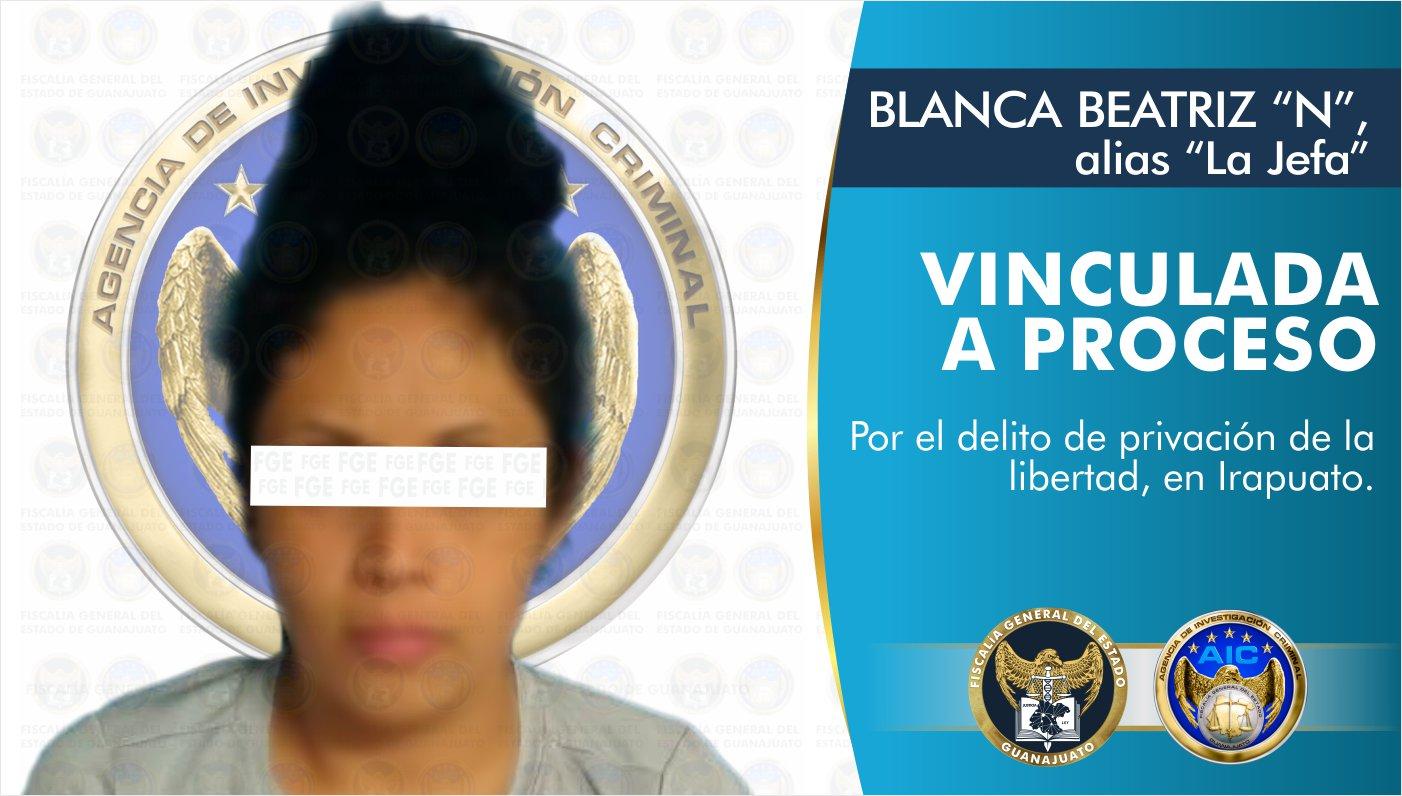 """Vinculan a proceso a """"La Jefa"""", integrante de grupo criminal por privación de la libertad de una hombre 10"""