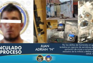 Asegura AIC cientos de dosis de droga, objetos para su embalaje y comercialización, en intervención en un domicilio en León 2