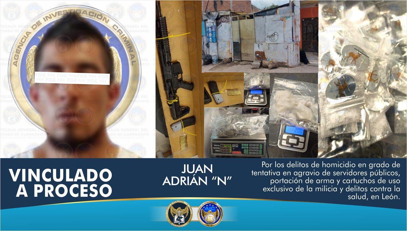 Asegura AIC cientos de dosis de droga, objetos para su embalaje y comercialización, en intervención en un domicilio en León 1