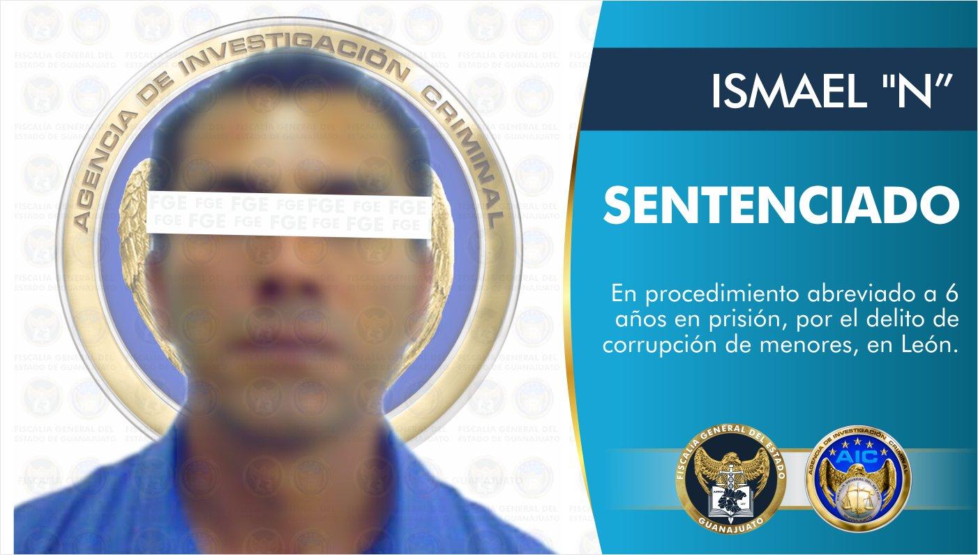 Por corrupción de menores sentencian a hombre a seis años en prisión 8