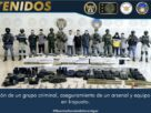 A disposición de la autoridad Federal, 10 integrantes de un grupo delictivo detenidos en Irapuato. 8