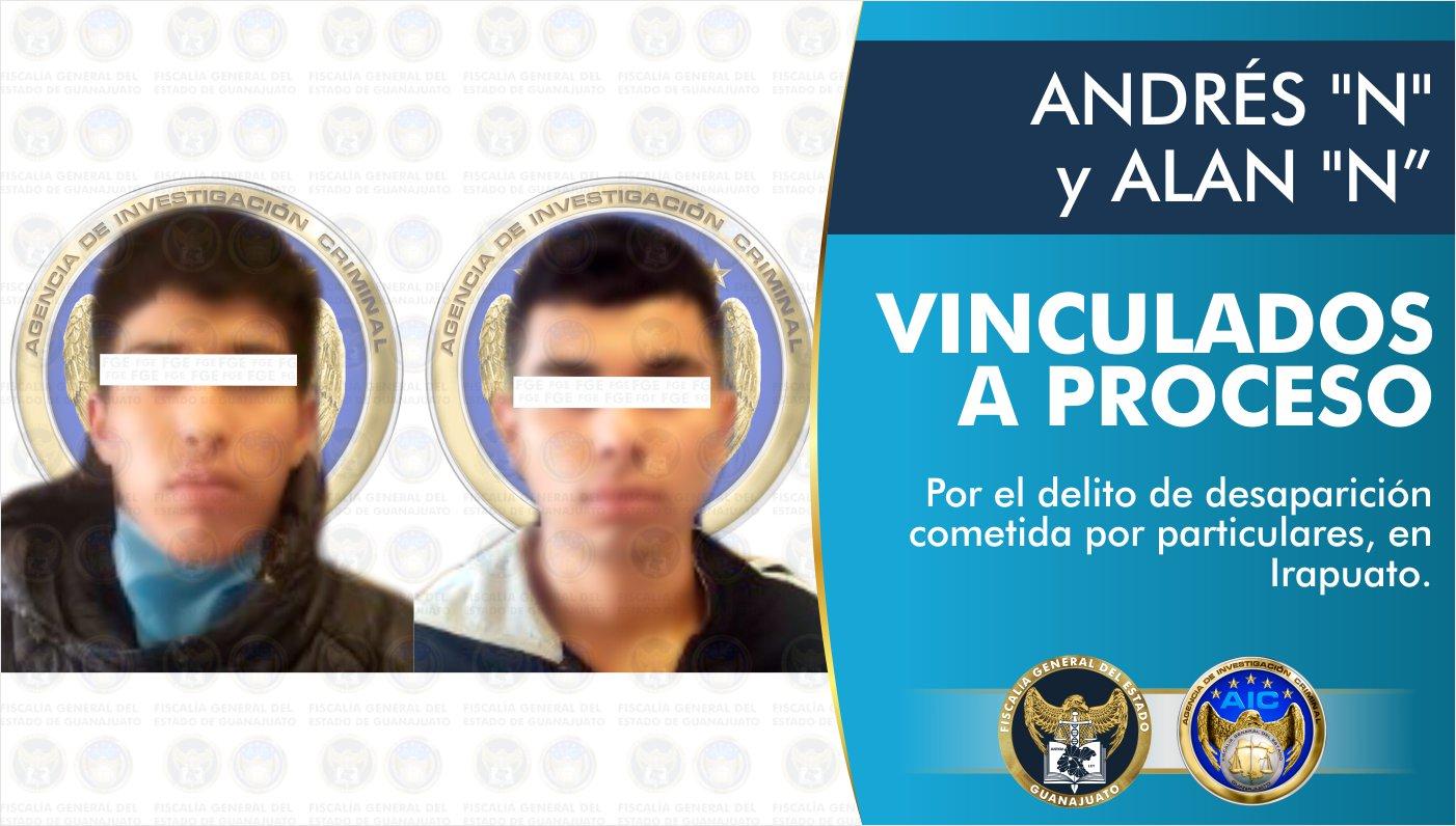 Vinculan a proceso a dos integrantes de célula criminal detenidos en Irapuato 1