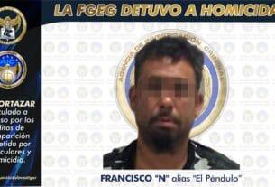"""Vinculan a proceso a """"El Péndulo"""" por desaparición y homicidio de un hombre cuyo cadáver fue enterrado en Cañada de Caracheo. 2"""