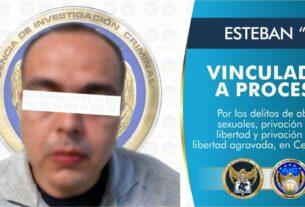 Vinculan a proceso a sujeto que privó de la libertad a dos menores de edad y abusó sexualmente de una de ellas, en Celaya. 3