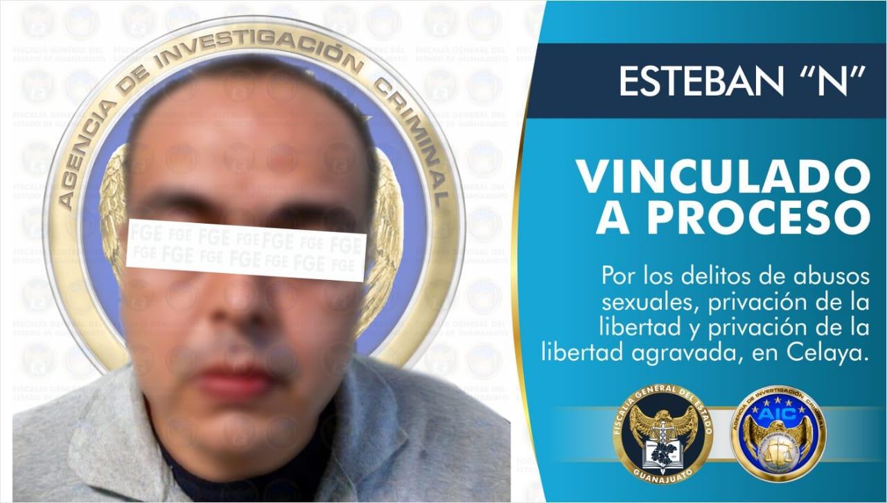 Vinculan a proceso a sujeto que privó de la libertad a dos menores de edad y abusó sexualmente de una de ellas, en Celaya. 4