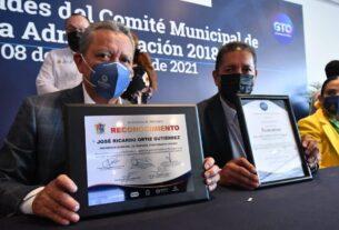 PRESENTA INFORME SEMESTRAL COMITÉ MUNICIPAL DE VACUNACIÓN 3