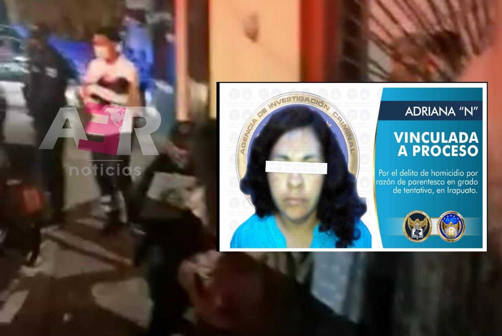 Dejan presa a mujer que apuñaló a sus menores hijos 1