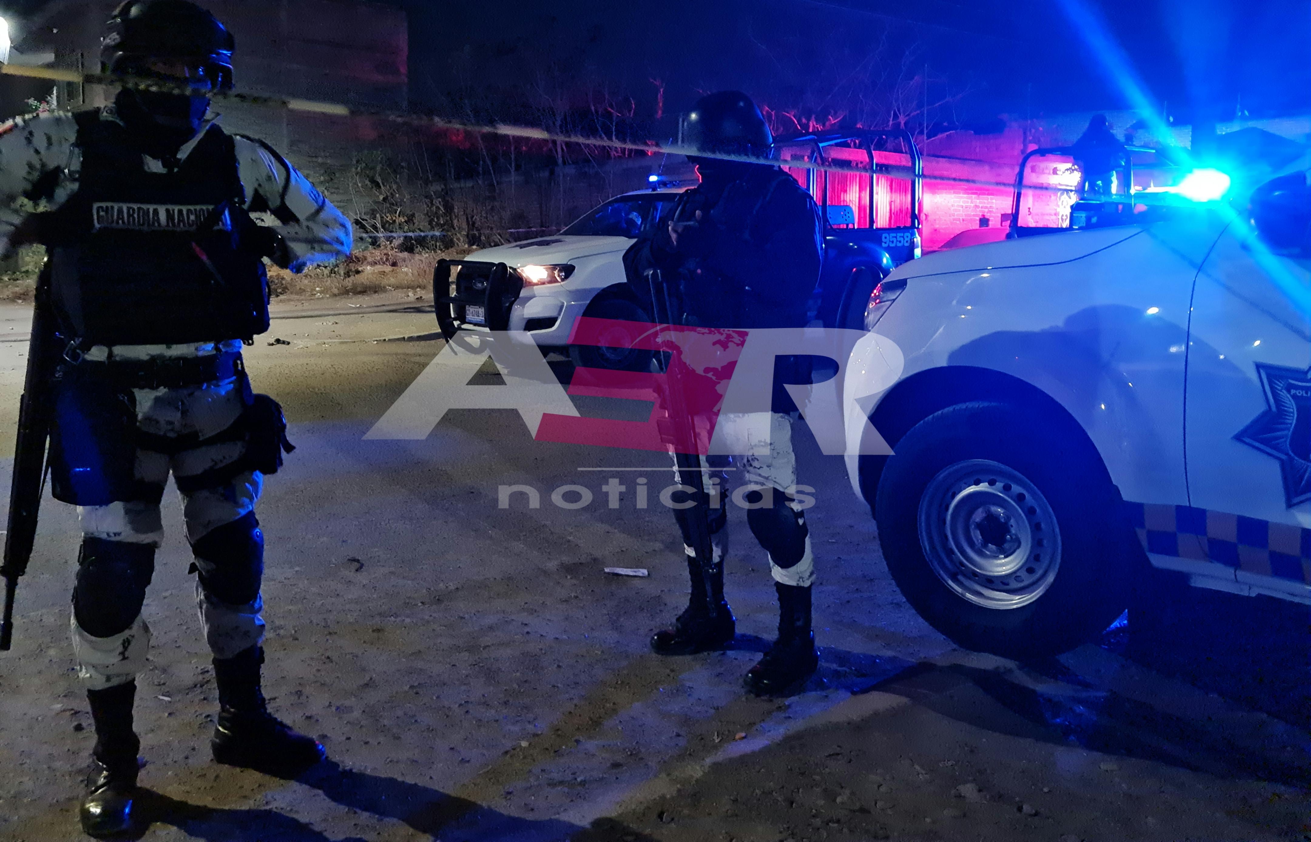 Dos muertos en ataque armado en la colonia Juárez 1