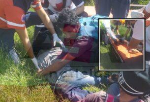 Niño hondureño cae del tren y le cercena pie derecho 3
