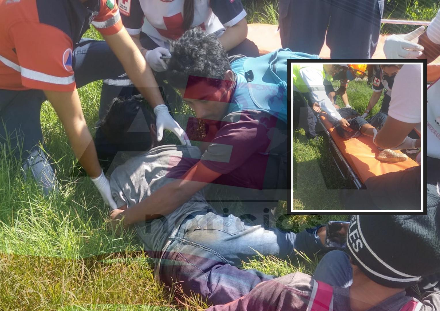 Niño hondureño cae del tren y le cercena pie derecho 1