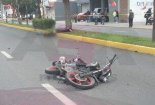 Muere motociclista tras derrapar y golpearse la cabeza 2