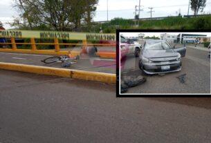 Muere ciclista arrollado por el conductor de un vehículo en la glorieta de Las Carmelitas 4