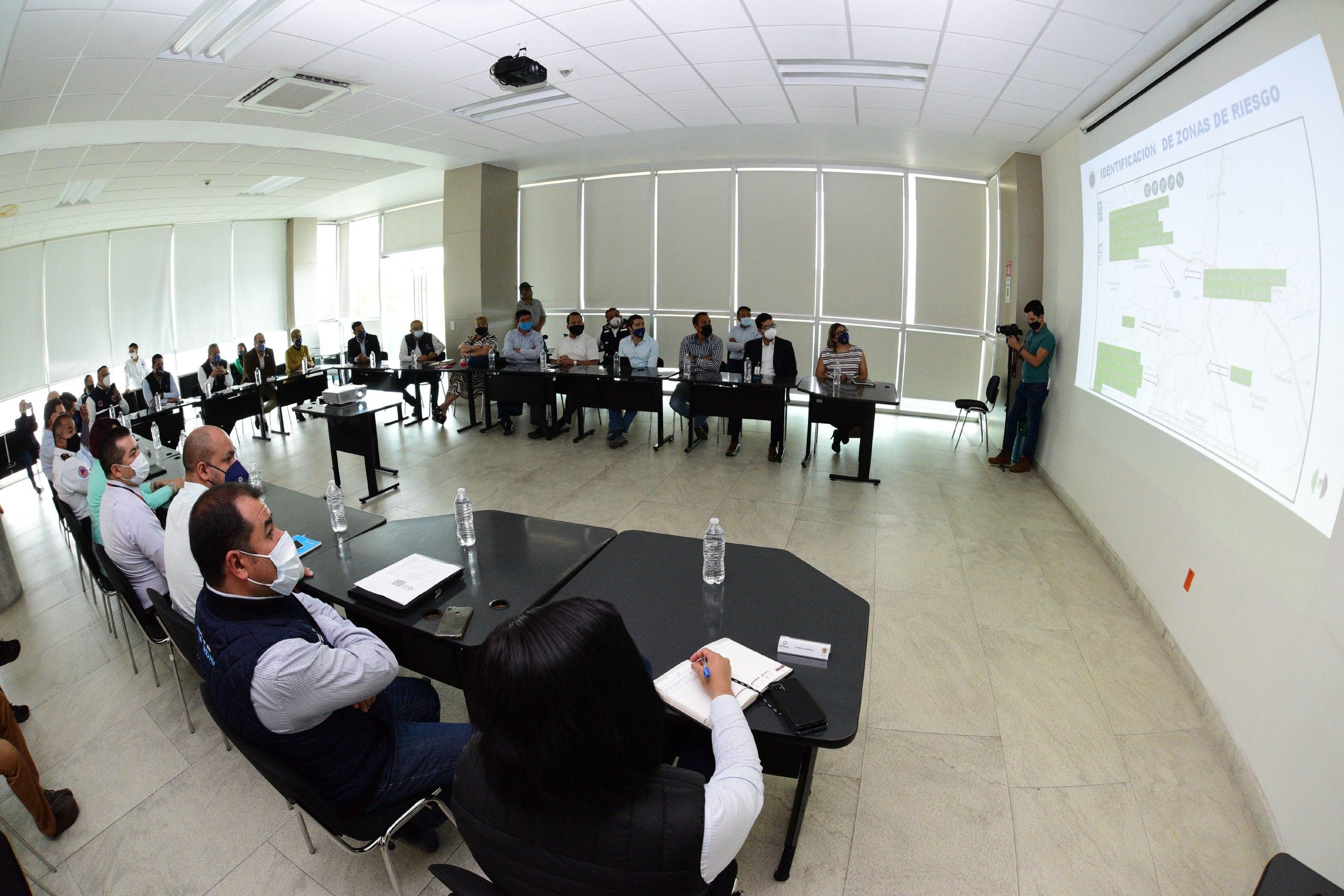 PREPARADOS Y CON MONITOREO CONSTANTE PROTECCIÓN CIVIL DE IRAPUATO 1