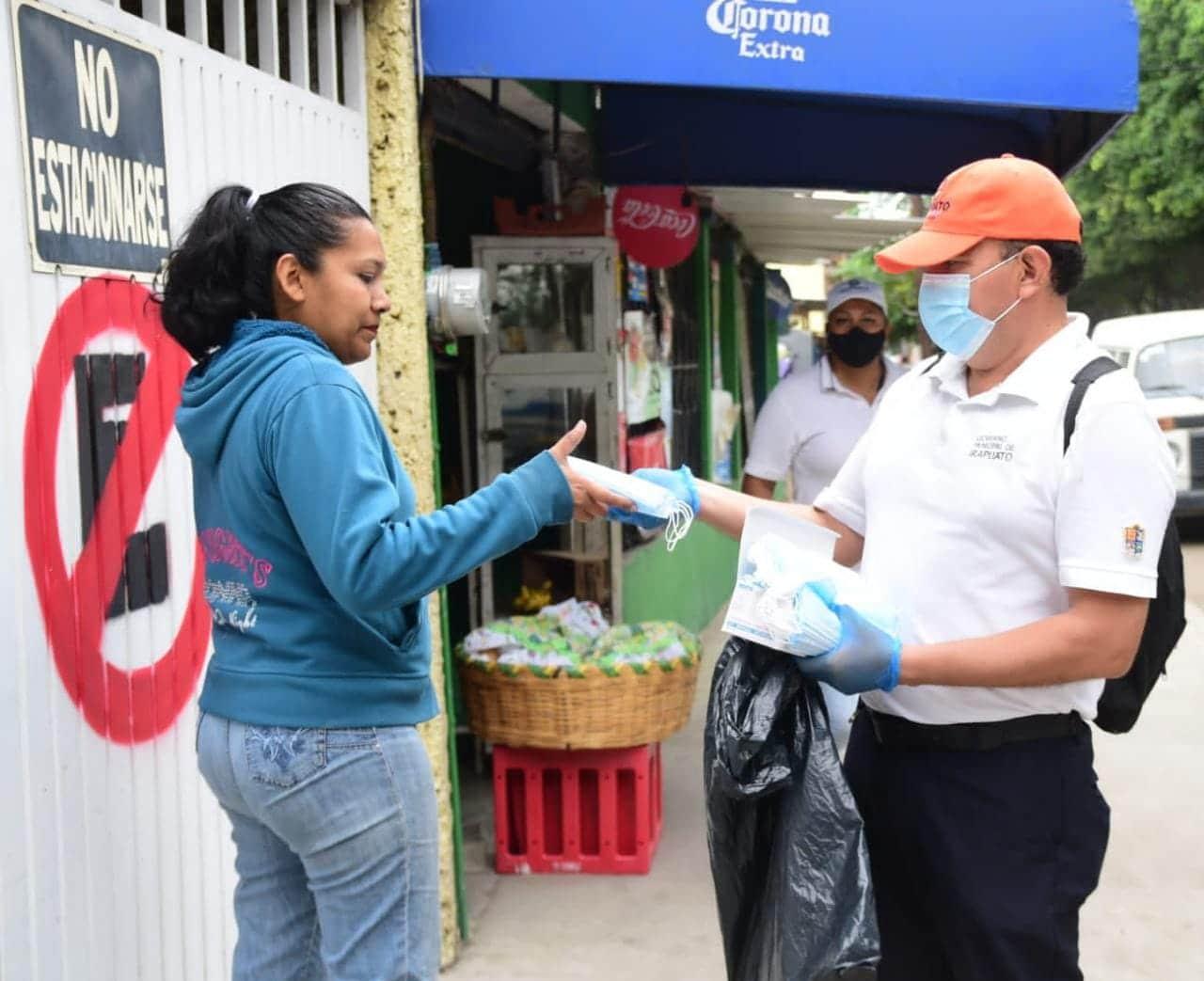 CONTINUÁN BRIGADAS DE CONCIENTIZACIÓN SOBRE USO DE CUBREBOCA 1