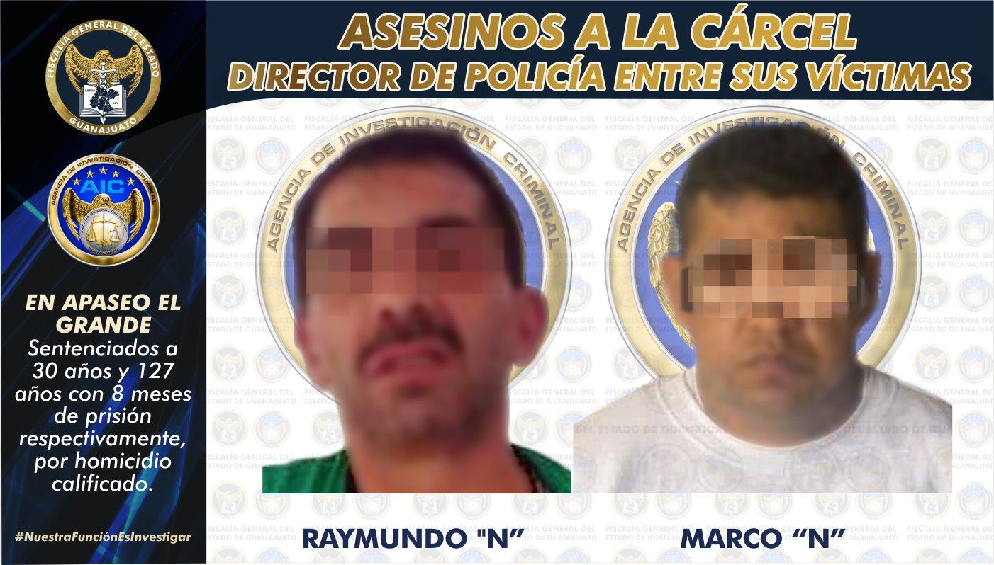 Sentencia inédita de 127 años con 8 meses para sujeto que mató al director de Seguridad de Apaseo el Grande y a tres adolescentes 1