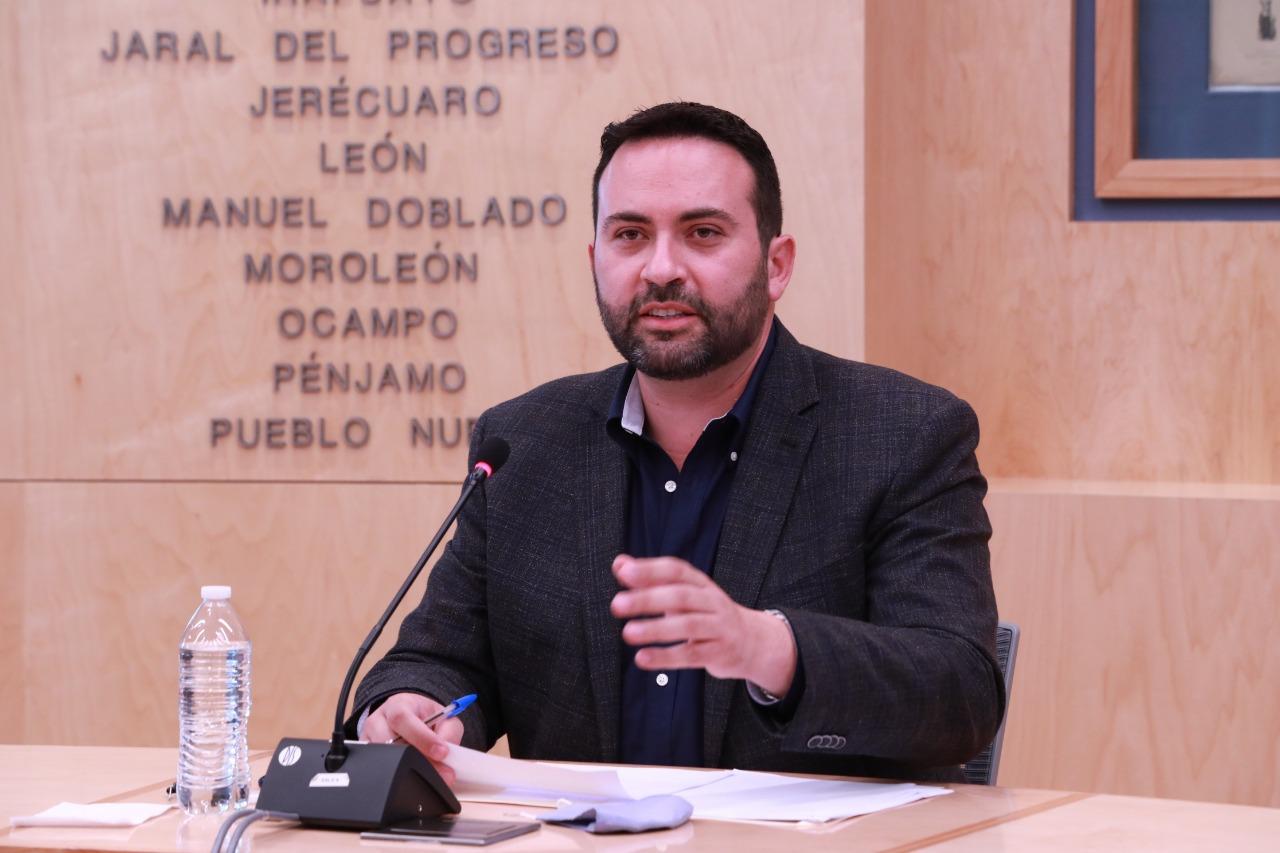 Se instala la comisión de Turismo en el Congreso local presidida por el Diputado Aldo Márquez. 1