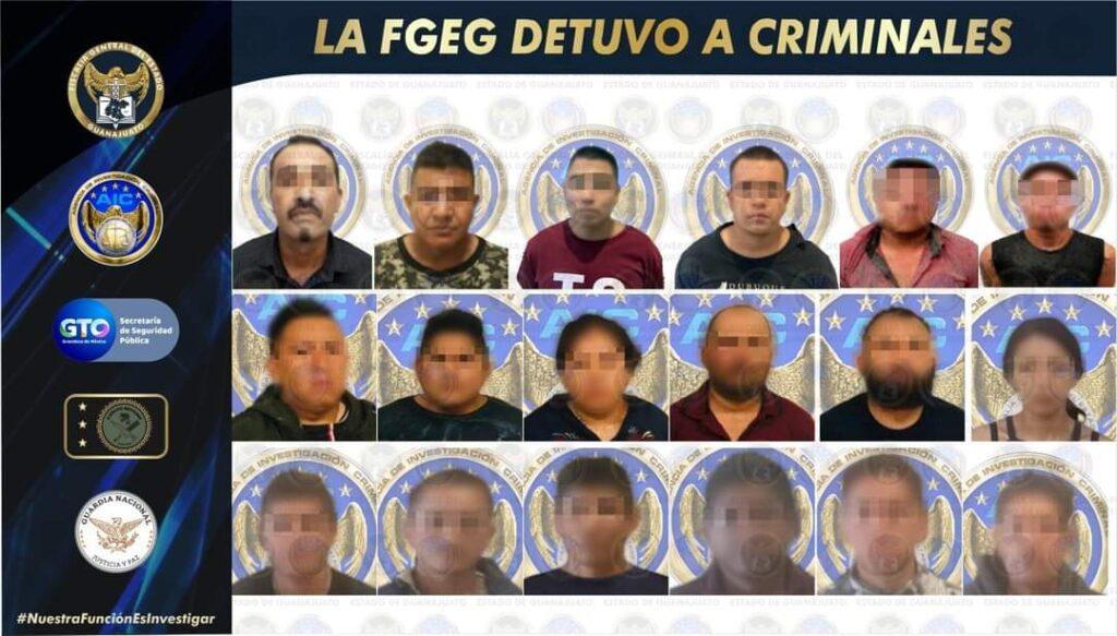 """El """"M1"""" principal sucesor de """"El Marro"""" es detenido por la FGE y otros 21 criminales 2"""