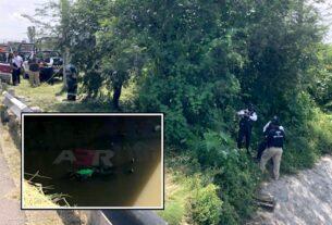 Localizan cuerpo flotando en el arroyo Santa Rita 3
