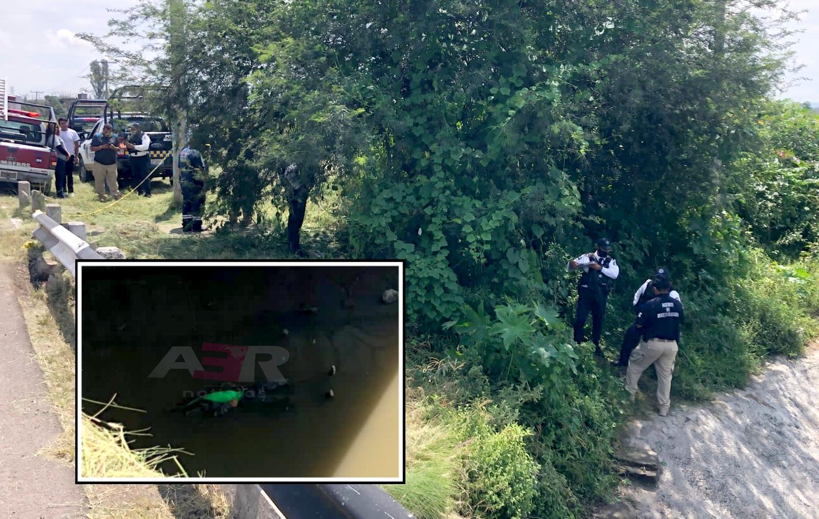 Localizan cuerpo flotando en el arroyo Santa Rita 1