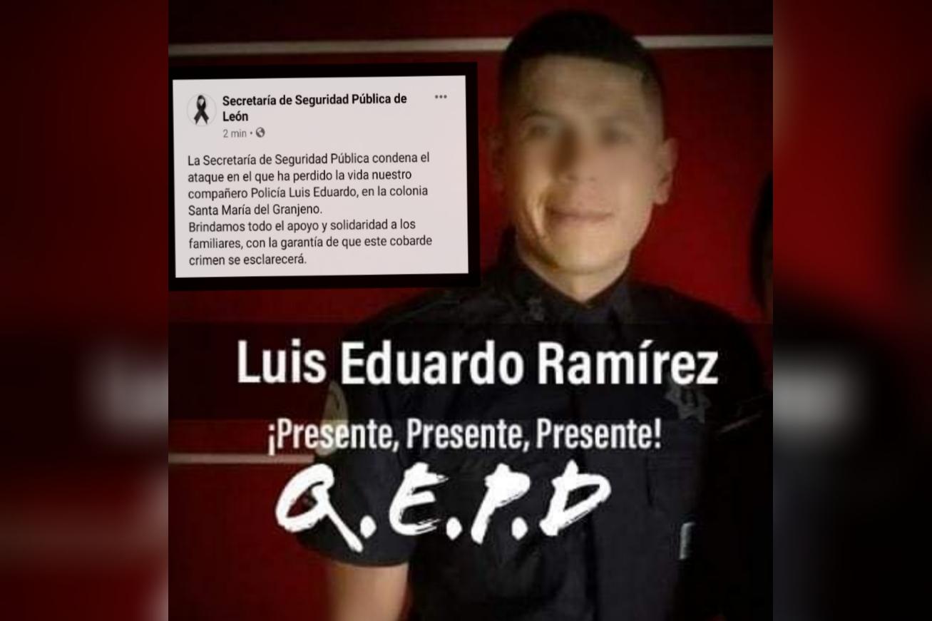 Un policía muerto y otro lesionado en ataque armado en León 1