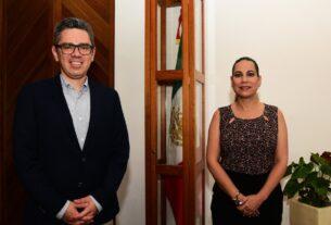 SE REÚNE LORENA ALFARO CON SECRETARIO DE FINANZAS EN BUSCA DE ACUERDOS POR LA TORRE MÉDICA 3