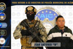 Detienen a ex Director de Seguridad Pública Municipal de Acámbaro. 3